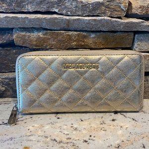 Michael Kors large gold wallet